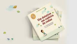 MENINOS ESPECIAIS - CAPA UM DETETIVE EM CADEIRA DE RODAS